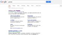 Google despliega un nuevo diseño en la página de resultados de su buscador, por ahora solo en EEUU