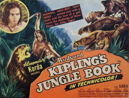 Cine en el salón: 'El libro de la selva', Kipling en modo clásico