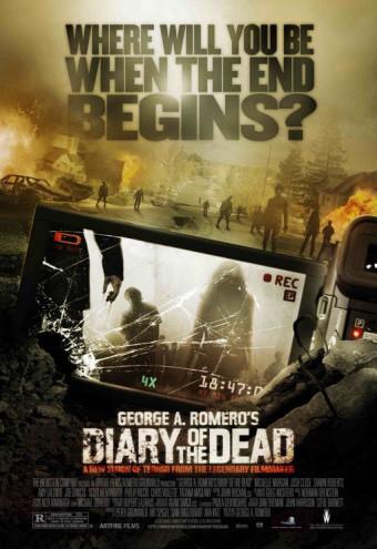 "Nuevo póster de 'Diary of the Dead', lo ""nuevo"" de George A. Romero"