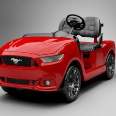 Foto 2 de 5 de la galería ford-mustang-carrito-de-golf en Motorpasión