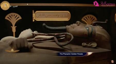 Desfile dorado faraones