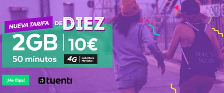 Tuenti estrena tarifa con 50 minutos y 2 GB por 10 euros, solo para universitarios