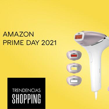 Amazon Prime Day 2021: la depiladora de luz pulsada Philips Lumea Prestige con un montón de cabezales y accesorios a precio mínimo hoy