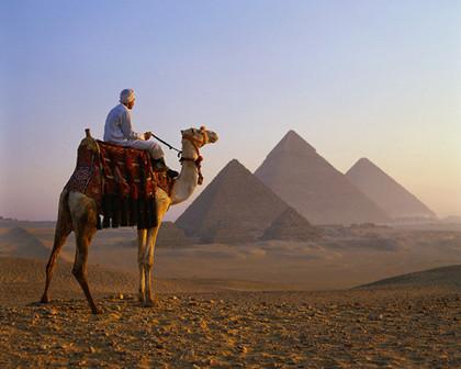 Cómo colarse en las pirámides de Egipto