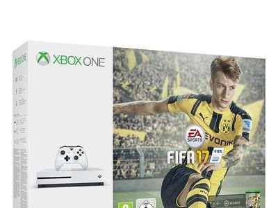 Consola Xbox One S de 500GB, con el juego Fifa 17, por 249,95 euros
