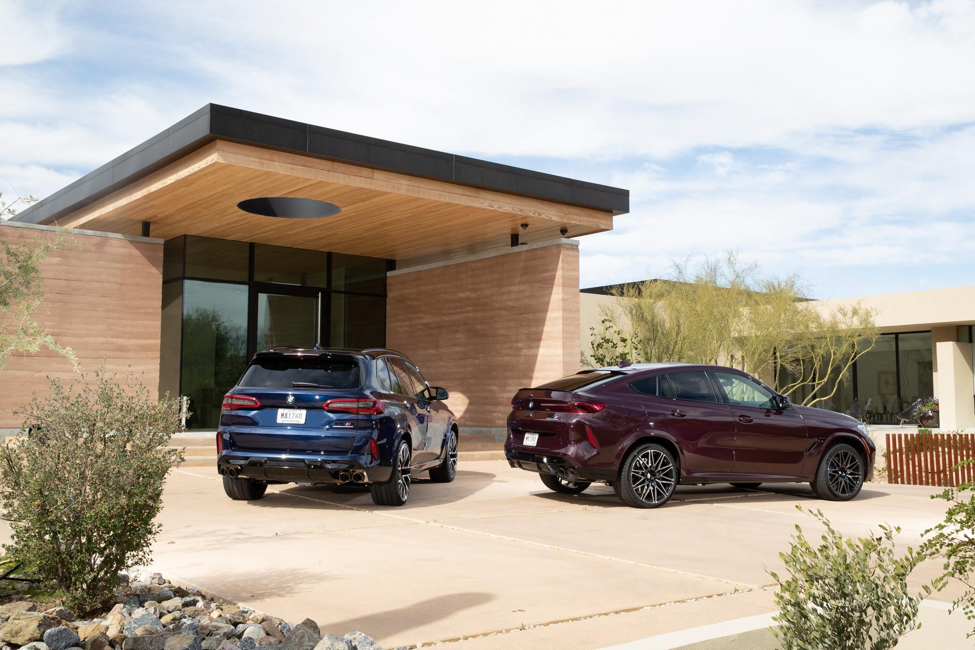 Foto de BMW X5 y X6 M Competition (5/31)
