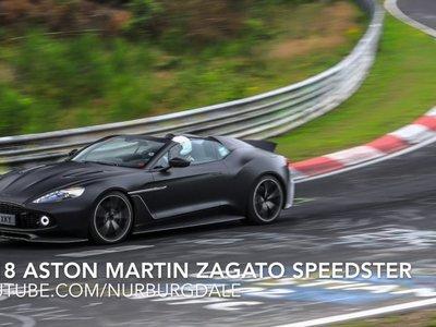 Aston Martin prueba en Nürburgring un Vanquish Zagato Speedster