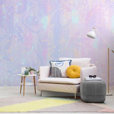 La esencia de los unicornios traducida a colores y convertida en papel pintado