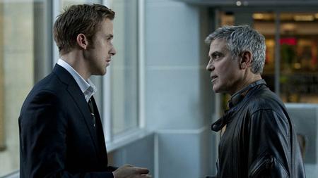Ryan Gosling y George Clooney