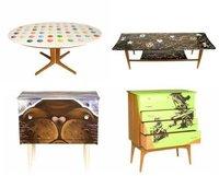 Urbankind, colección de muebles con graffitis