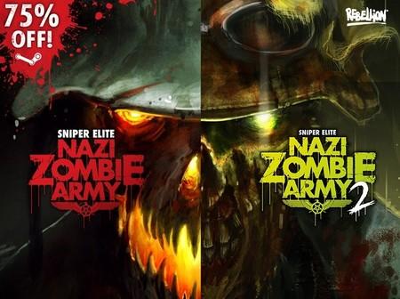 Medio millón de copias vendidas de Sniper Elite: Nazi Zombie Army