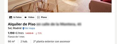 """Pisos 300€ más caros cuando pase """"la situación"""": así se está resistiendo el mercado a la bajada del alquiler"""