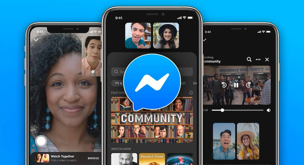 Reproducir vídeos en Messenger para verlos con amigos: así es el nuevo 'Watch together' de Facebook