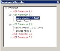 Framework Detector: detecta que frameworks .NET tienes