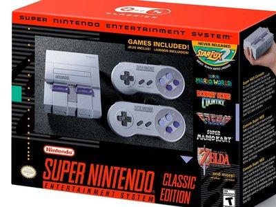 Nintendo sigue apostando por la nostalgia, ahora anuncia un Super Nintendo Mini con 21 juegos a 80 dólares