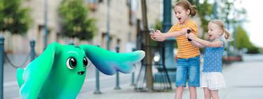 Nueve aplicaciones y juegos de realidad aumentada para divertirte con los niños en iOS y Android