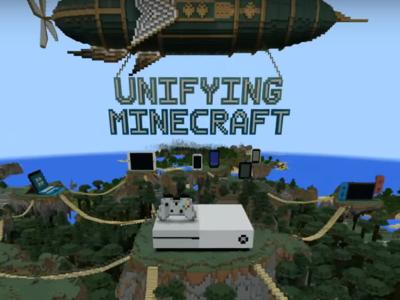 Todas las versiones de Minecraft serán unificadas este verano con la Better Together Update [E3 2017]