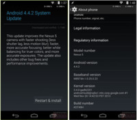 Android 4.4.2 disponible para los dispositivos de la familia Nexus