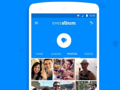 Everalbum llega a Android: espacio ilimitado para tus fotos y competencia para Google Fotos