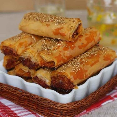 Rollitos de filo y chorizo, receta para un aperitivo muy sabroso