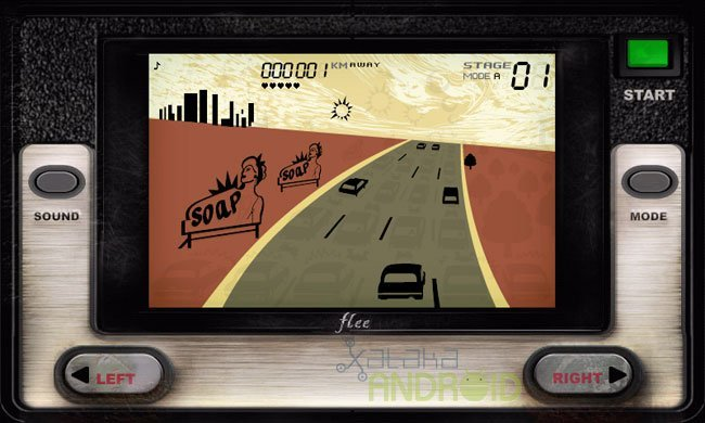 Flee, convierte tu Android en una Game&Watch