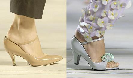 El calzado de Marc Jacobs Primavera/Verano 2008