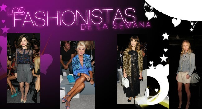 Fashionistas de la Semana