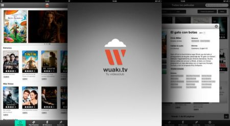Wuaki.tv conquista la tablet de Apple y la Xbox 360