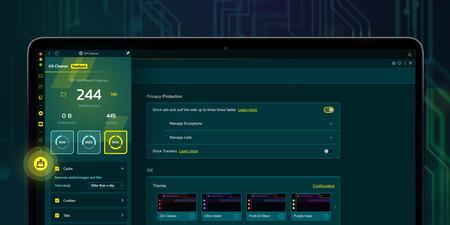 Opera GX se actualiza con nuevos temas y la herramienta GX Cleaner para hacer limpieza de archivos antiguos