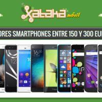 Los mejores smartphones entre 150 y 300 euros libres o con pago a plazos en operadoras