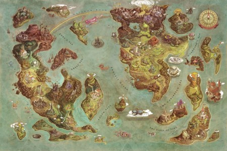 Videogames World Map (Edison Yan)