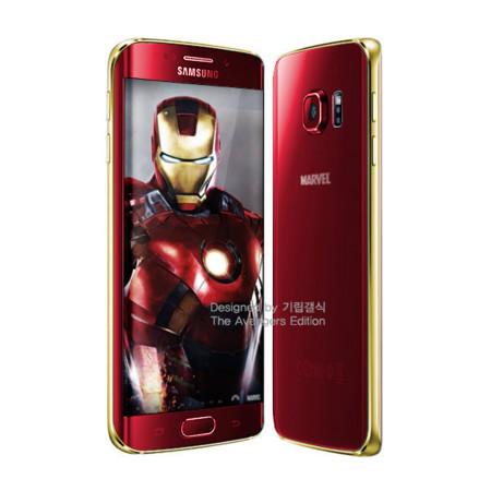 Samsung Galaxy S6 y S6 Edge 'Iron Man Edition', nuevas versiones que llegarán el próximo mes de junio