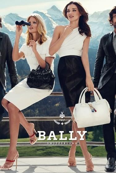 Bally campaña Primavera-Verano 2012: a la montaña con tacones (de aguja)