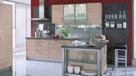 Qu se lleva en las paredes de las cocinas - Alicatar cocina detras muebles ...