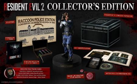 Resident Evil 2 Remake Edicion Coleccionista