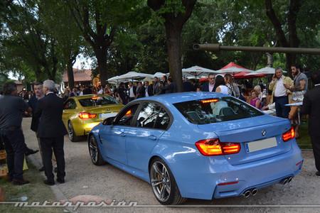 El BMW M3 a punto de desfilar