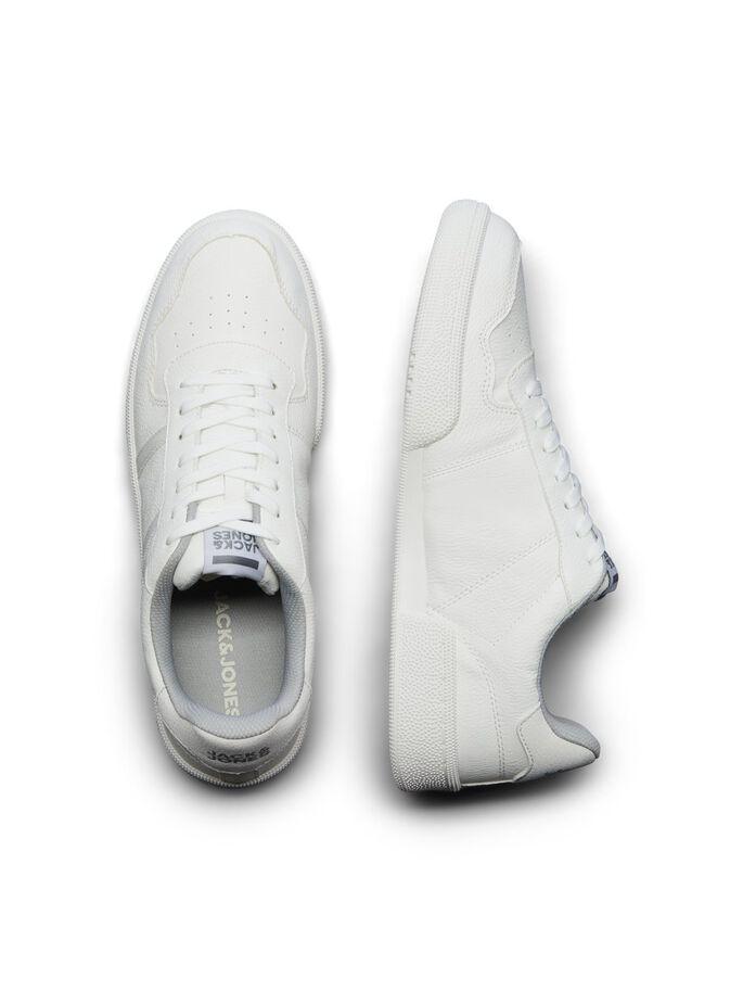 Zapatillas minimalistas total white