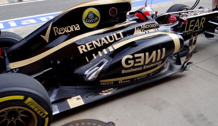Solo el Lotus de Raikkonen llevará las actualizaciones