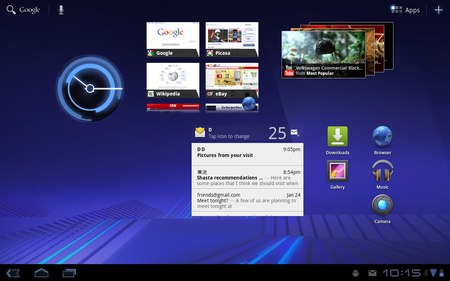 Android 3 Honeycomb