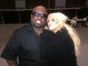 Christina Aguilera y Cee-Lo Green han hecho un tema juntos, ¡festival del vozarrón!