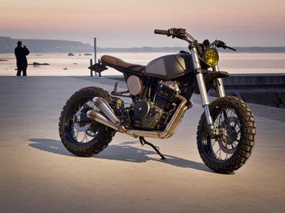 Mira Yamaha, así se hace una versión retro con una moto moderna