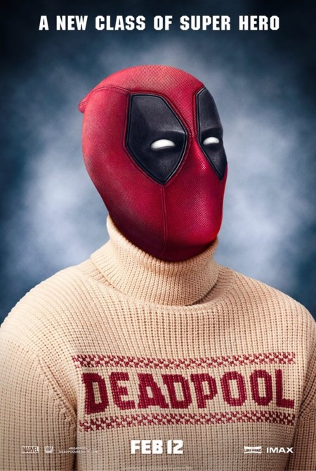 Cartel de Deadpool con jersey