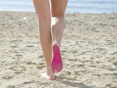 NakeFit, el invento que nos permitirá andar por la arena este verano (aunque parezca lava)