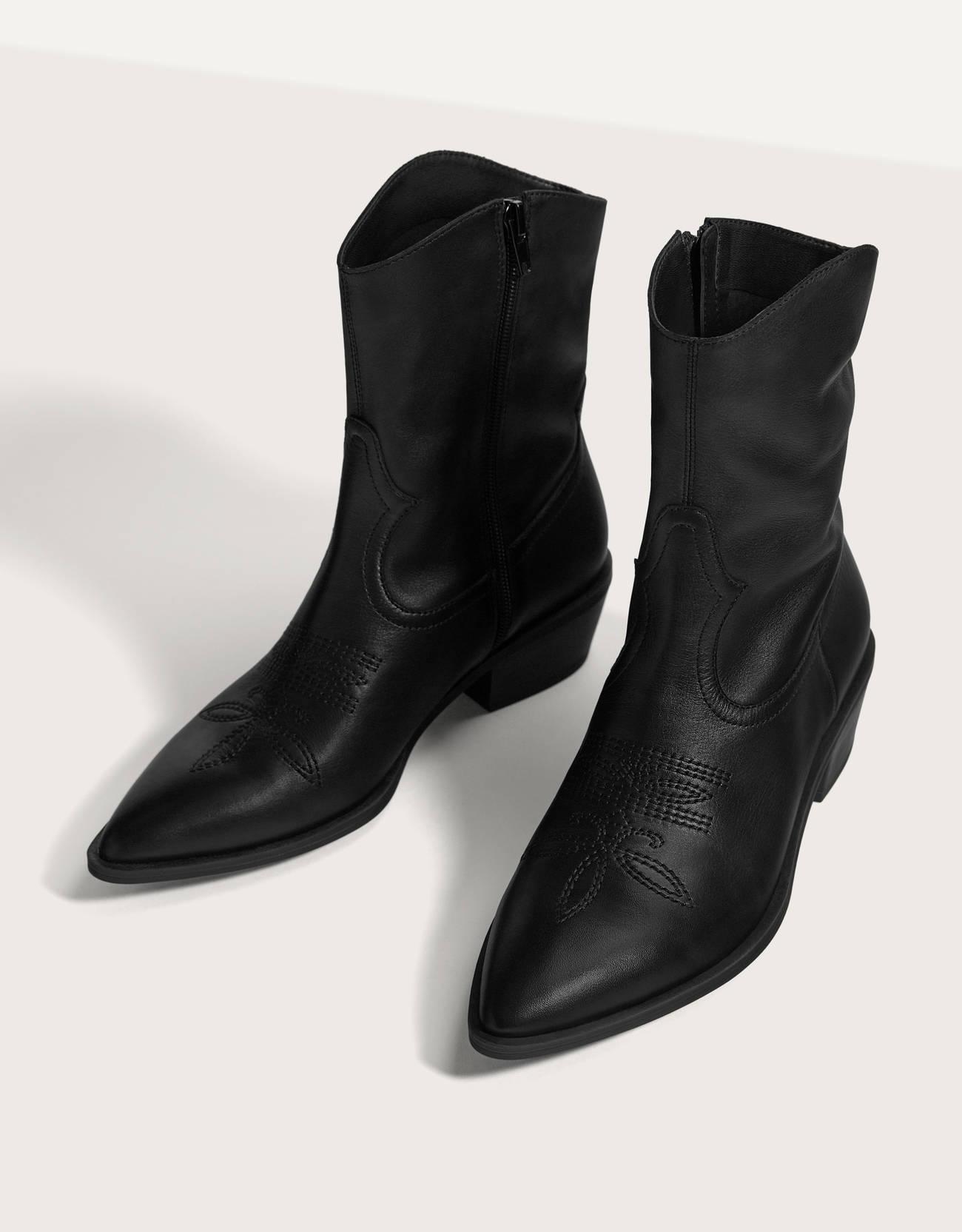 Botines de estilo cowboy