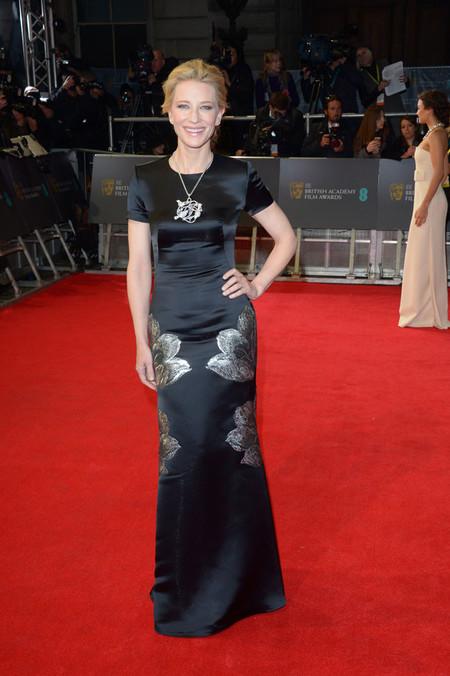 Duelo de recogidos en los Bafta: ¿Cate Blanchett o Uma Thurman?
