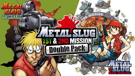 Los clásicos Metal Slug 1st & 2nd Mission de NeoGeo Pocket Color ya se pueden adquirir en un mismo pack en Nintendo Switch