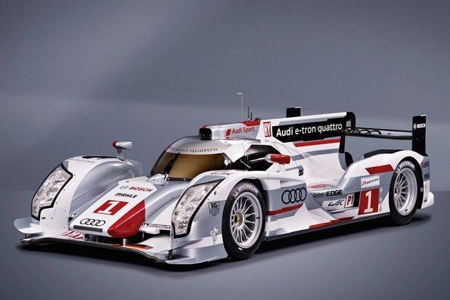 Audi R18 e-tron quattro LMP1 híbrido vencedor en Le Mans 2012