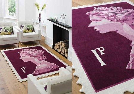 Stamp Rugs, alfombras inspiradas en los sellos de correos