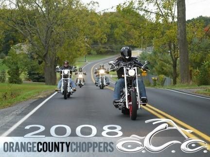Prueba de las 2008 OCC Production Bikes