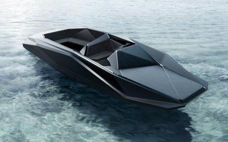 "Zaha Hadid diseña la ""Z-Boat"", una lancha rápida exclusiva muy peculiar"
